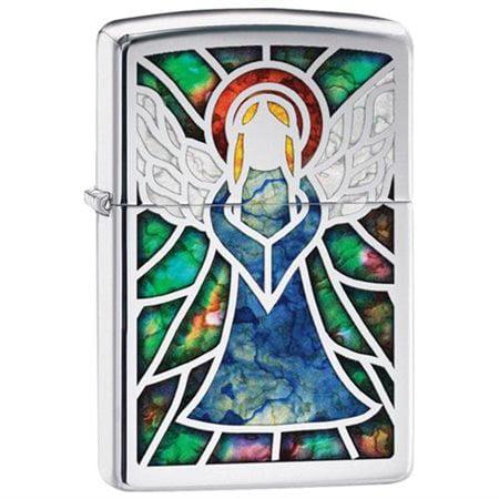Zippo Choice Angel Fusion High Polish Chrome 28967 Lighter