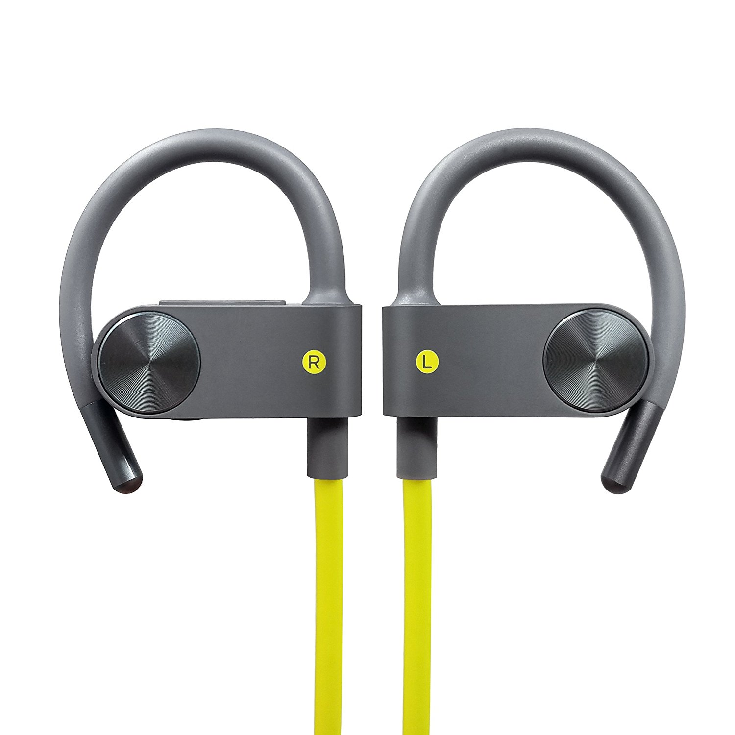 Photive Bt55g Sport Bluetooth Headphones Wireless Earbuds For Running Gym Workout In Ear Sweatproof Secure Fit Earphones With Built In Mic And Remote In Headset Walmart Com Walmart Com