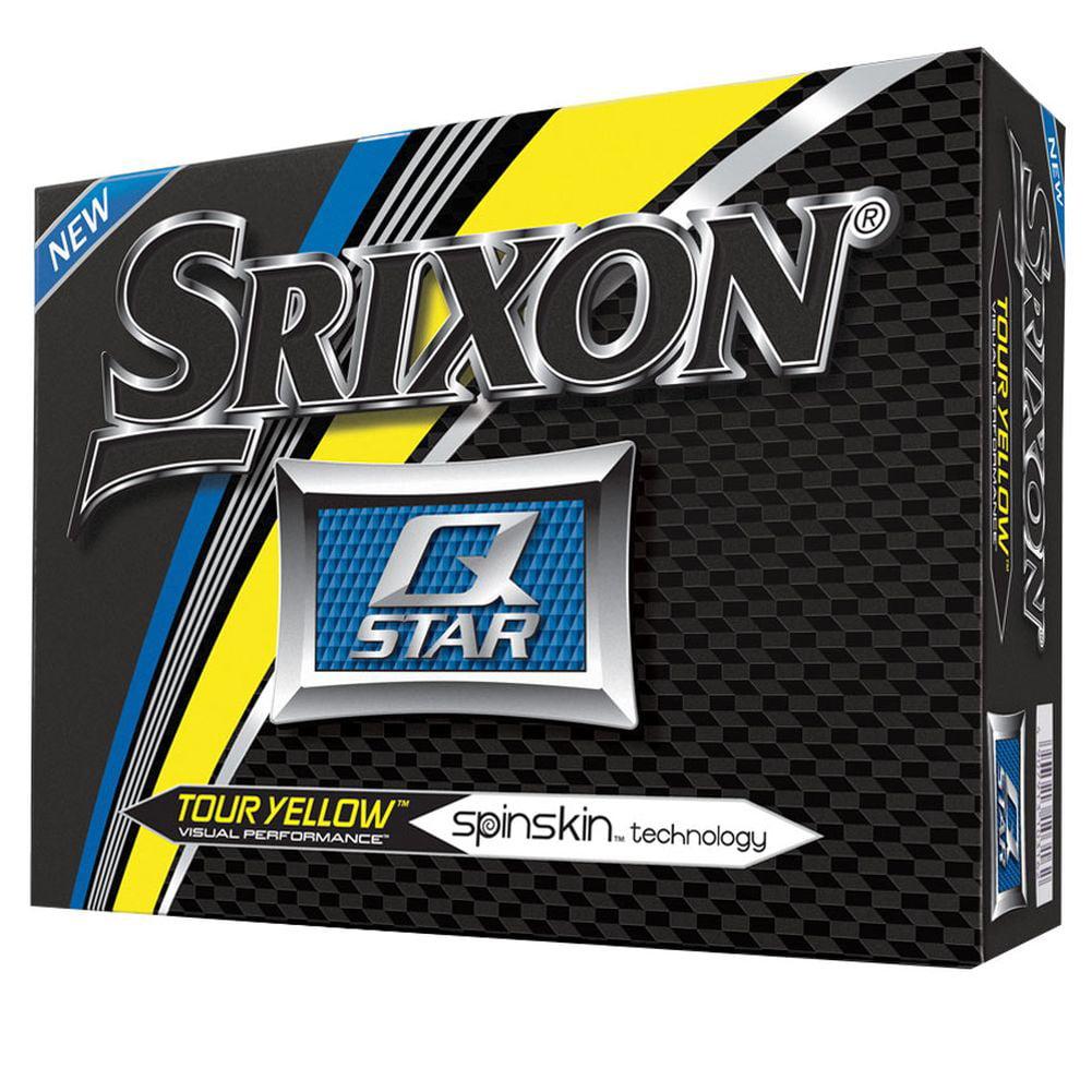 Srixon Q-Star Golf Balls (Pure White, 2-Piece Ball, 2017, 12pk) NEW