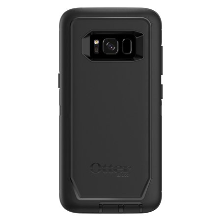 OtterBox Samsung Galaxy S8 Defender Series Case, Black (8500 Defender Case)