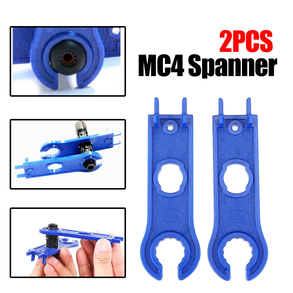 1pair MC4 mc4 Spanner Solar Panel Connector Disconnect Tool Spanners Wrench ABS
