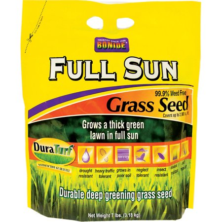 Bonide 60204 7 Lb Full Sun Grass Seed - Impatiens Full Sun