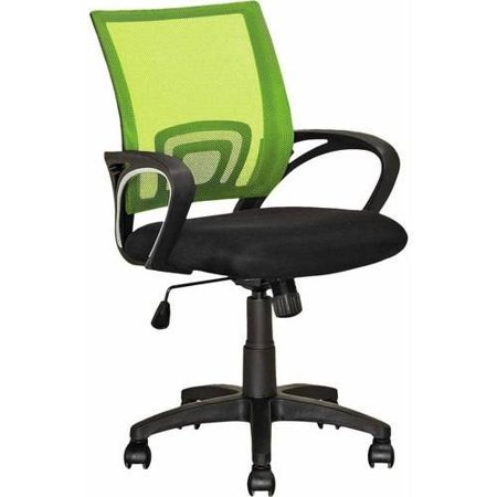 Workspace Mesh Back Office Chair Lime Green - CorLiving
