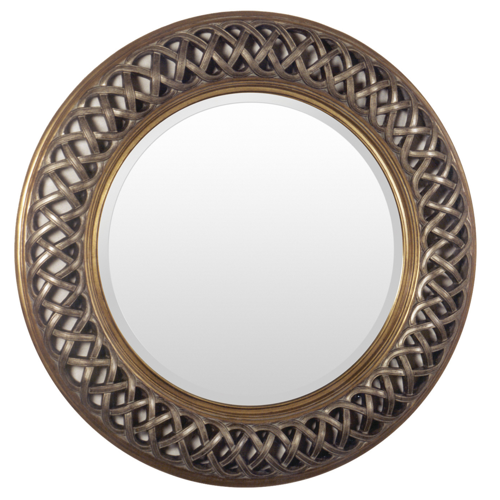 36 x 36 framed mirror double wide samuel 36