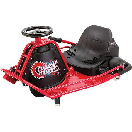 Razor Electric Powered Drifting Crazy Cart Walmart Com