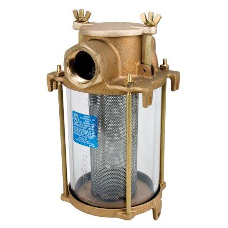 Waste Strainer (Perko 0493005PLB Bronze Water Strainer 3/4