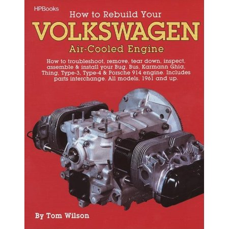 How to Rebuild Your Volkswagen Air-Cooled Engine : How to Troubleshoot, Remove, Tear Down, Inspect, Assemble & Install Your Bug, Bus, Karmann Ghia, Thing, Type-3, Type-4 & Porsche 914 Engine (Paperback)