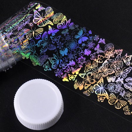 Outtop Major Design Nail Art Foil Stickers Transfer Decal Tips Manicure