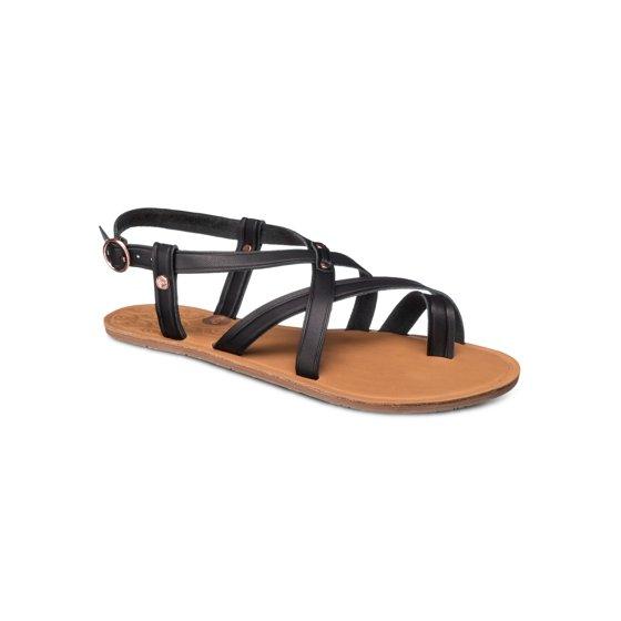 a3538e86206e24 Roxy - Womens SEVILLA Leather Open Toe Casual Strappy Sandals ...