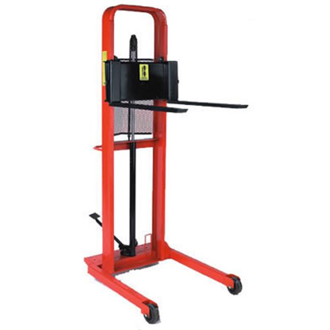Wesco Industrial 260054 Esfl-64-30S Stradle Fork Hydraulic Stacker by Wesco Industrial Products