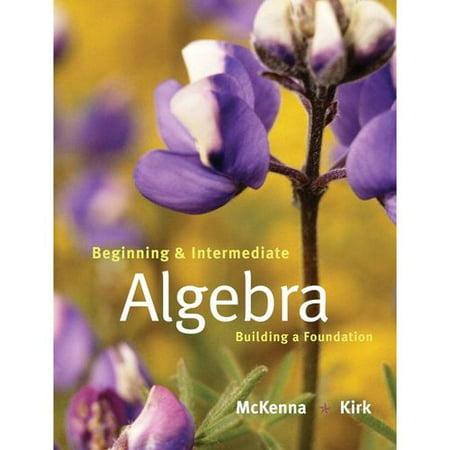 Beginning and Intermediate Algebra: Building a Foundation by