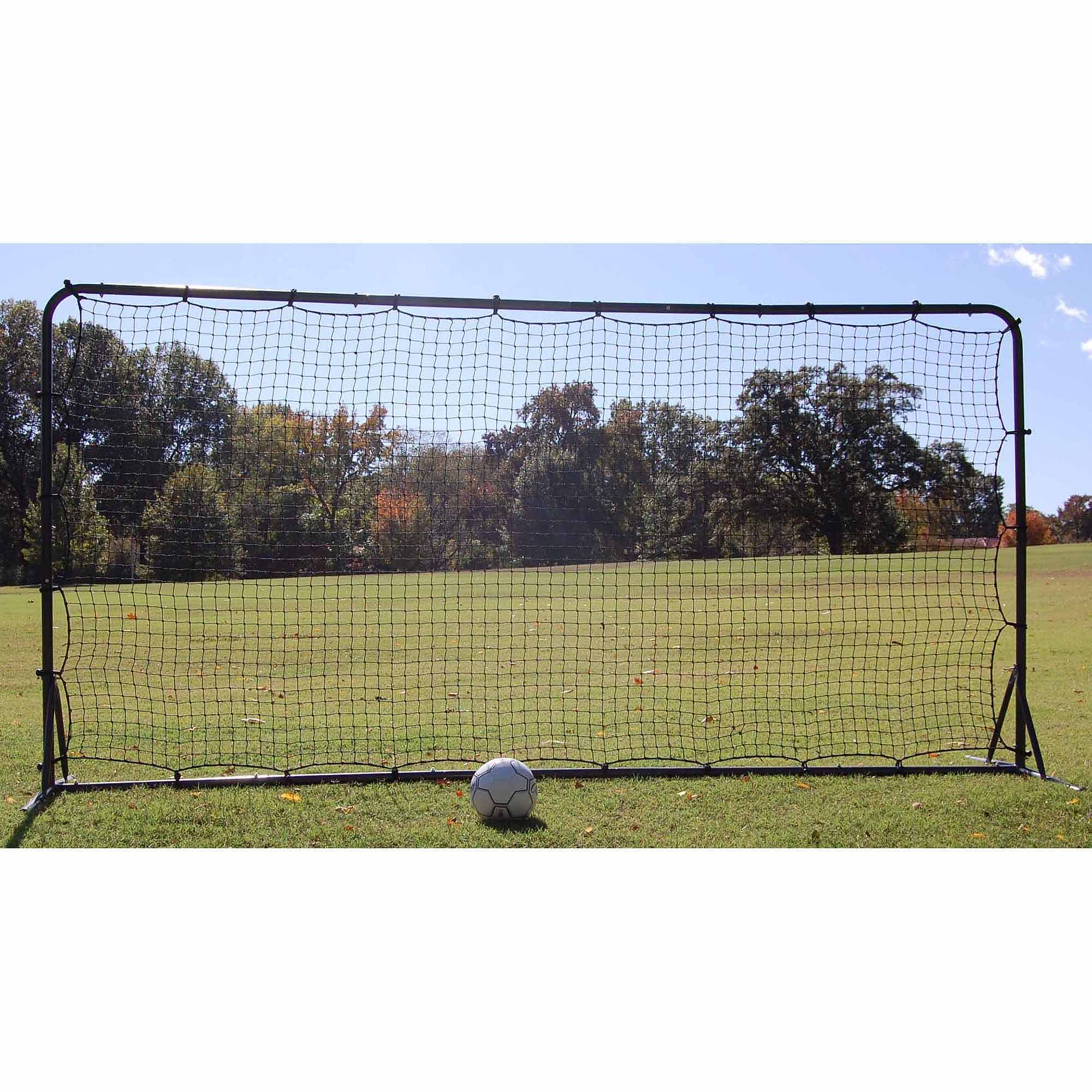 Soccer Rebounder Net and Frame Kit, 6' x 12'