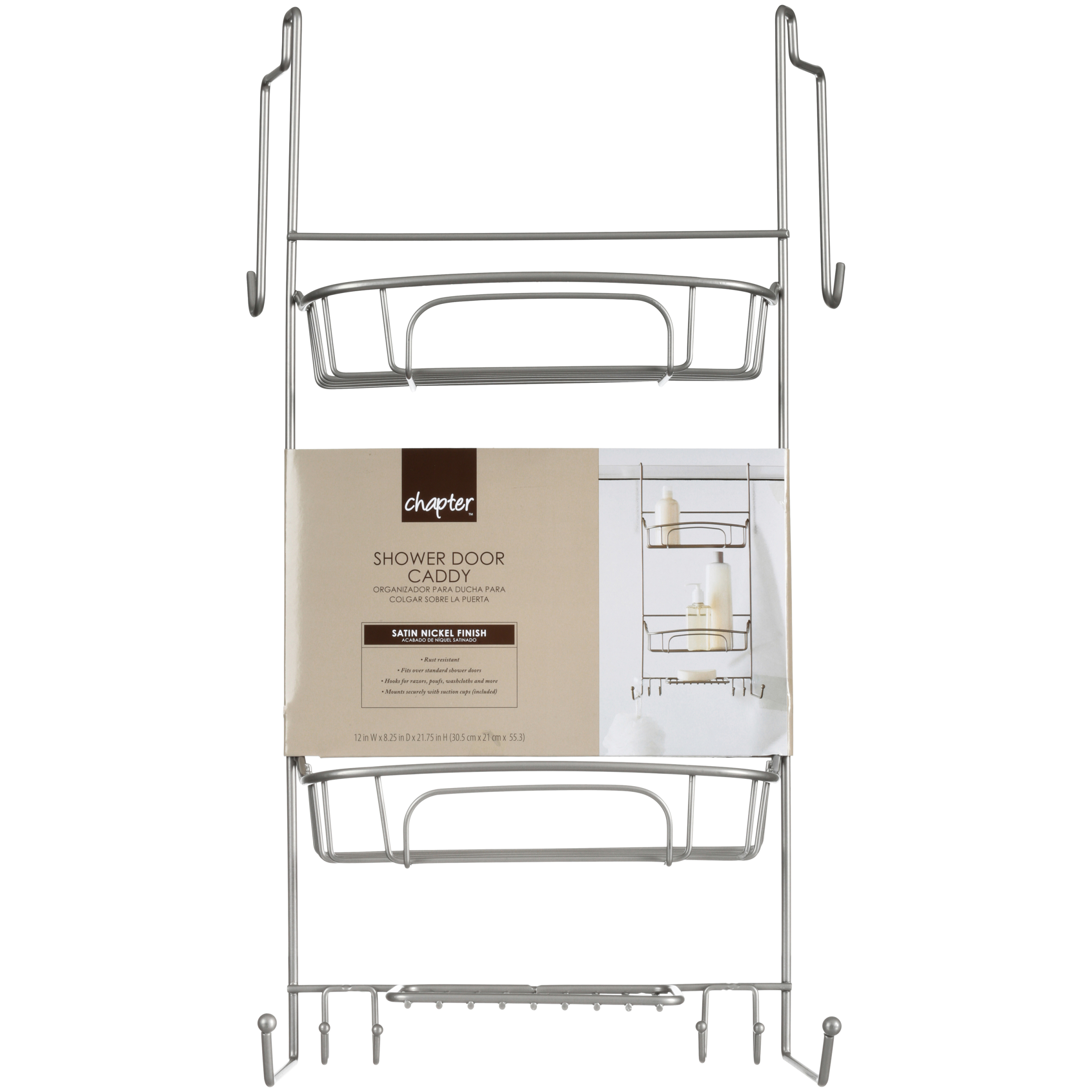 Chapter™ Shower Door Caddy - Walmart.com