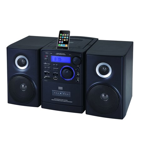 Ipod Player Controller - Supersonic MP3/CD Player with iPod Docking, USB/SD/AUX Inputs, Cassette Recorder & AM/FM Radio