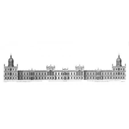 Elevation Palace of Whitehall towards Park Poster Print by  Colin Campbell