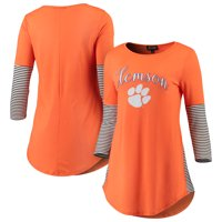 6f7ed1161 Product Image Clemson Tigers Women's Striking in Stripes Tunic Tri-Blend  Shirt - Orange