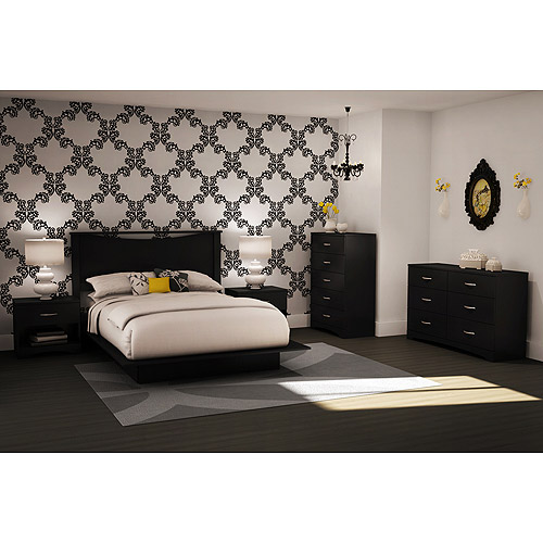 South Shore SoHo Bedroom 4-piece Value Bundle, Multiple Finishes