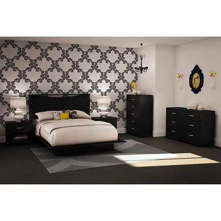 South Shore Soho Bedroom 4 Piece Value Bundle Multiple