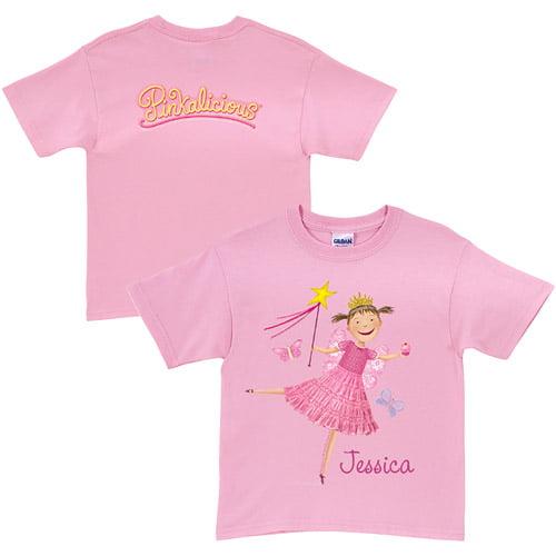 Personalized Pinkalicious Pink Cupcake Toddler Pink T-Shirt