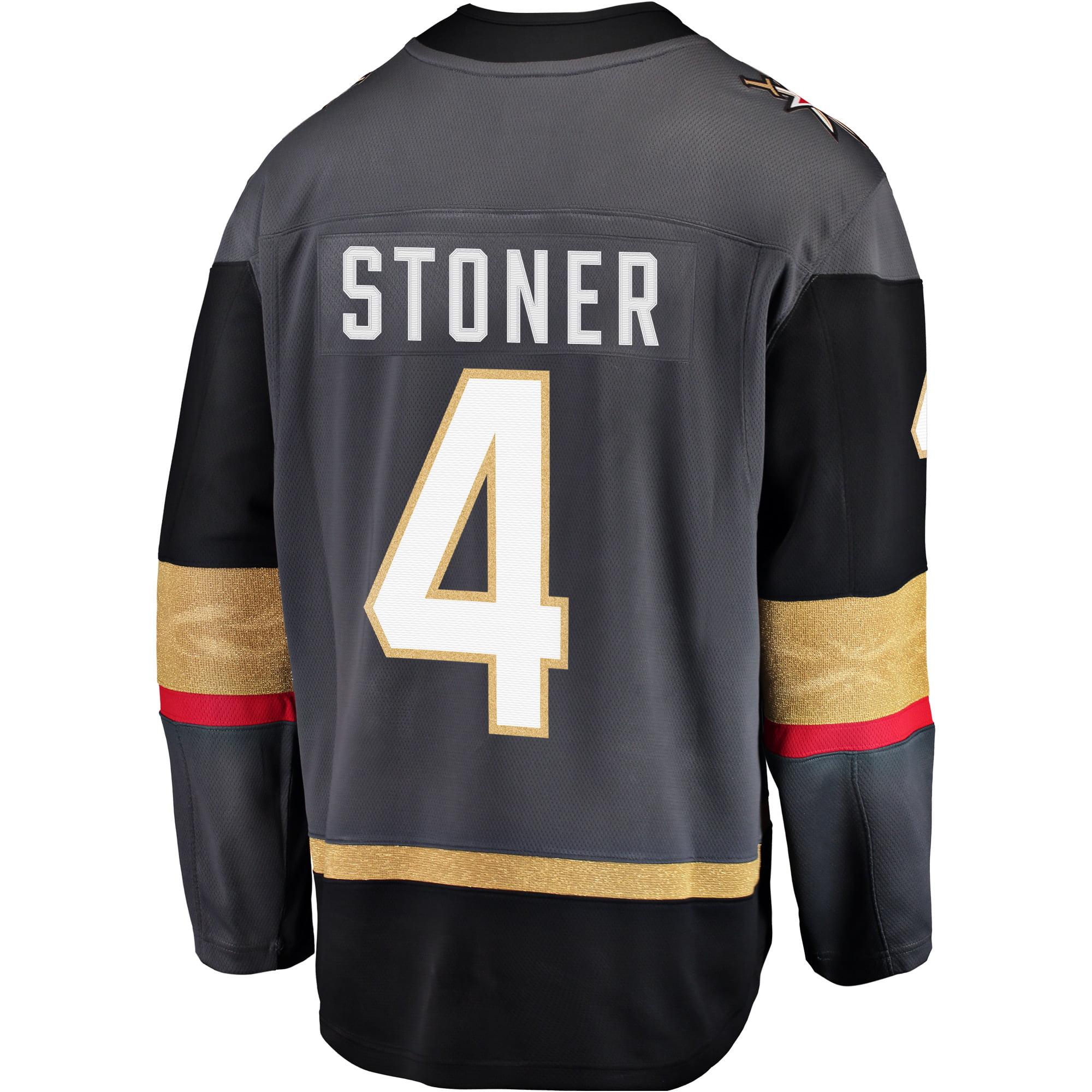 7fda05b19fa Clayton Stoner Vegas Golden Knights Breakaway Player Jersey - Black -  Walmart.com