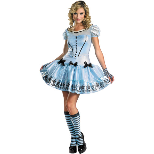 Alice in Wonderland Sassy Alice Adult Halloween Costume