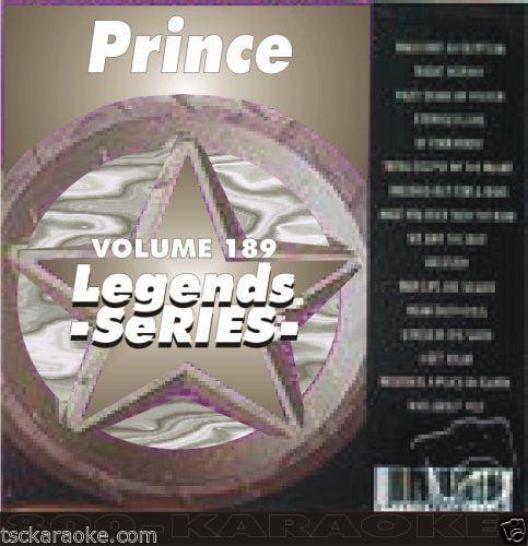PRINCE Legends Karaoke CDG