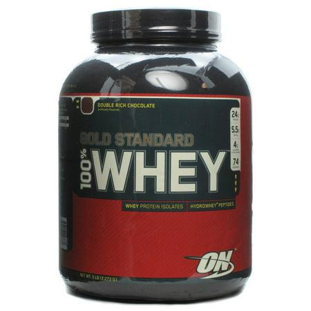 34ee4f2b4 100% Whey Protein Gold Standard- Chocolate Optimum Nutrition 5 lbs ...