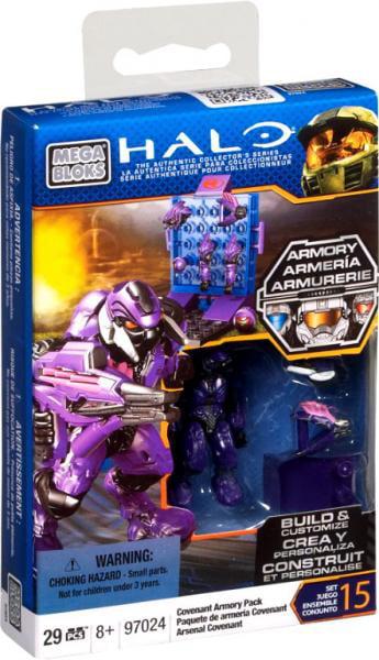 Halo Covenant Armory Pack Set Mega Bloks 97024 by