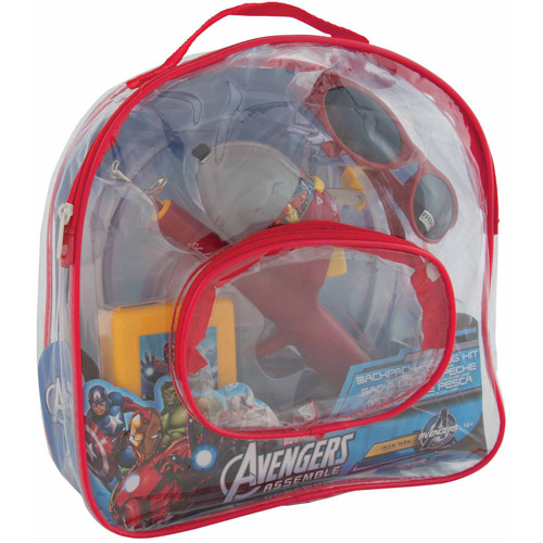 Shakespeare Marvel Iron Man Backpack Fishing Kit