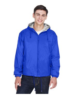 UltraClub Adult Fleece-Lined Hooded Jacket - 8915
