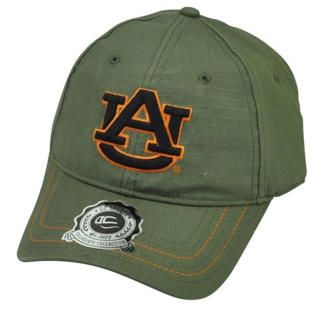 NCAA Auburn Tigers OC Sports Green Relaxed Slouch Hat Cap Snapback Adjustable