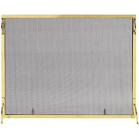 Achla SSM-5036BR 36 x 50 in. Montreal Screen, Polished Brass