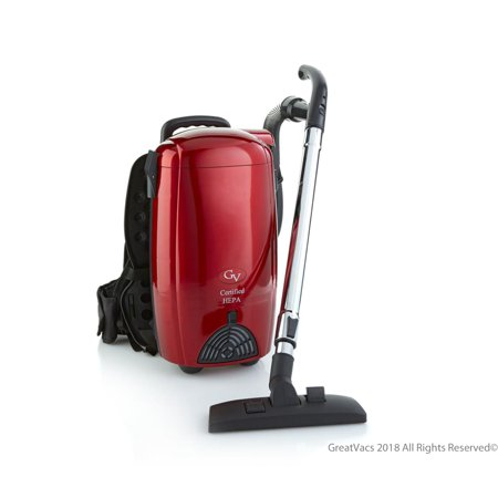 GV 8 Qt Quart Light Powerful HEPA BackPack Vacuum blower Loaded w 2 yr warranty