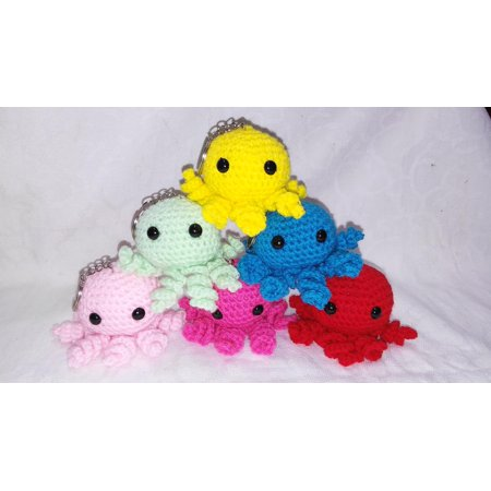Crochet mini octopus pattern by ternura amigurumi - eBook - Halloween Bunting Crochet Pattern