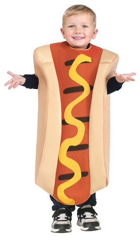 Toddler Cute Hot Dog Halloween Food Costume size 3T-4T  sc 1 st  Walmart.com & Toddler Cute Hot Dog Halloween Food Costume size 3T-4T - Walmart.com