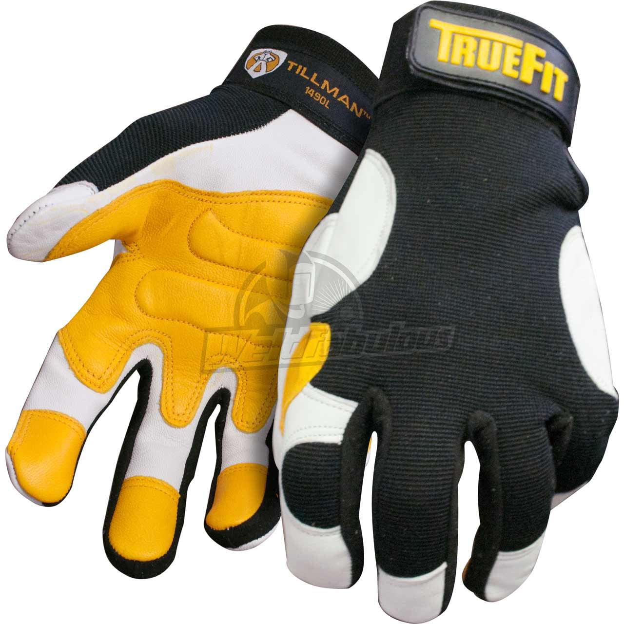 Tillman leather work gloves - Tillman 1490 Ultra True Fit Premium Top Grain Goatskin Work Gloves