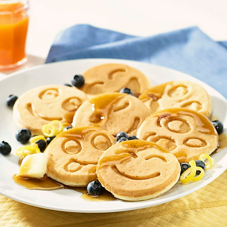 NORDIC WARE EMOTICON SMILEY FACE PANCAKE; ;