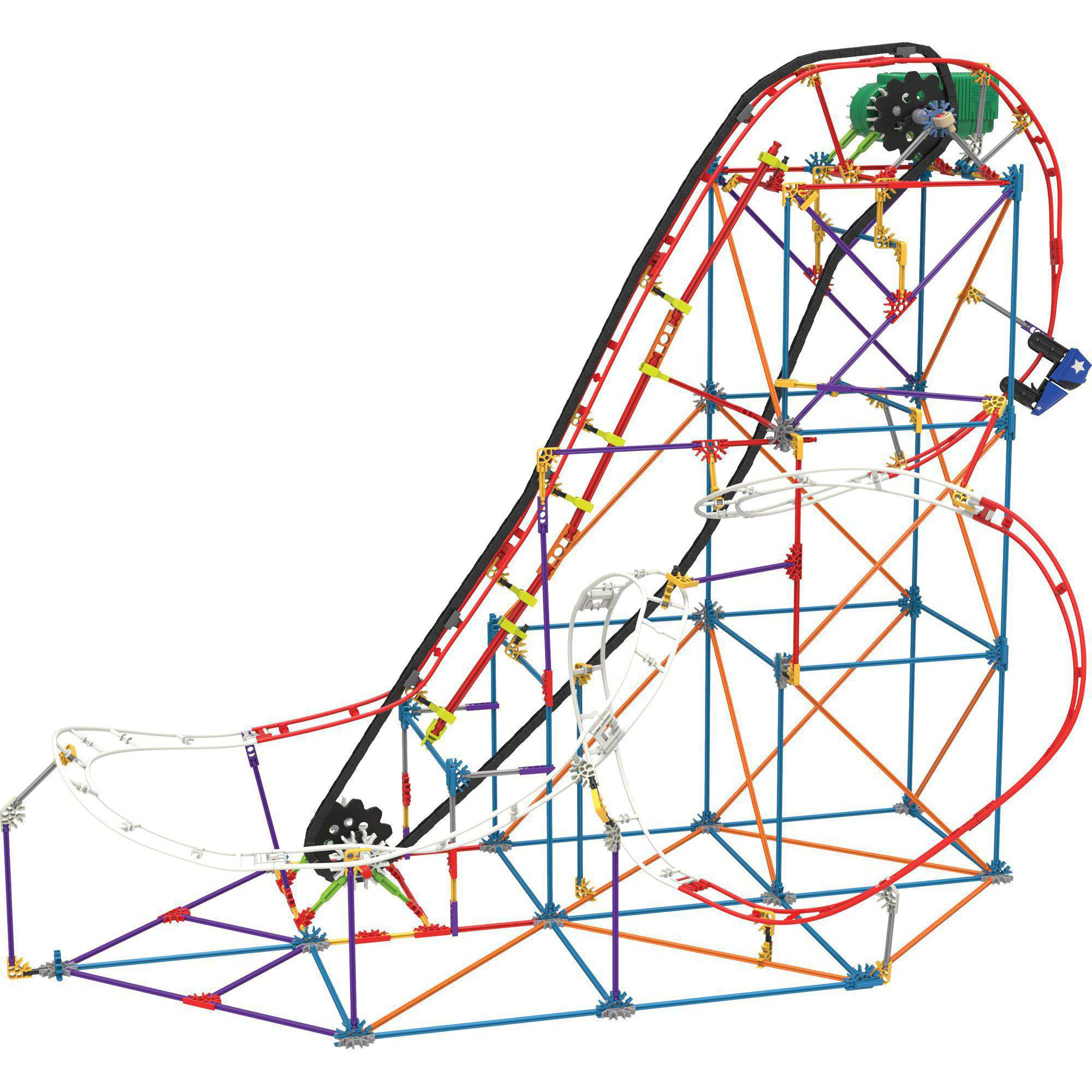 K'NEX All-American Roller Coaster Building Set