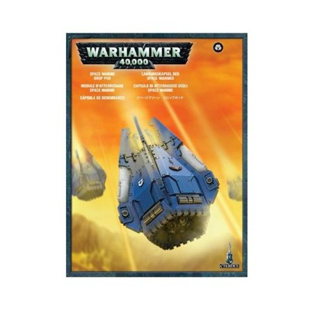 Space Marines Plastic Drop Pod Warhammer 40k New by, Space Marines Plastic Drop Pod Warhammer 40k New by Games Workshop By Games - Drop Game
