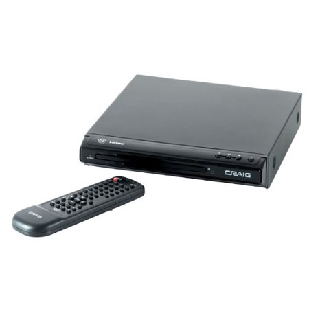 Craig Electronics CVD401A Craig Cvd401a Hdmi Dvd Player Upconvert To 1080p Multiple
