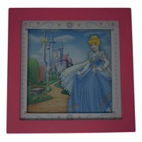 disney princess framed wall art 10x10, cinderella