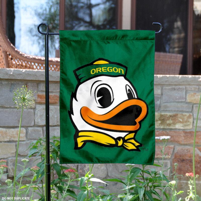 "Oregon Ducks The Duck 13"" x 18"" College Garden Flag"