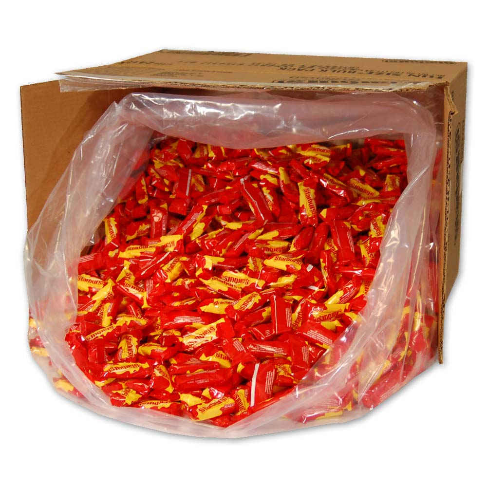 Starburst Fruit Chews Fun Size 25 lb bulk