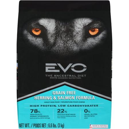 Image of EVO Ancestral Diet Grain-Free Herring & Salmon Formula Dry Dog Food, 6.6 lb
