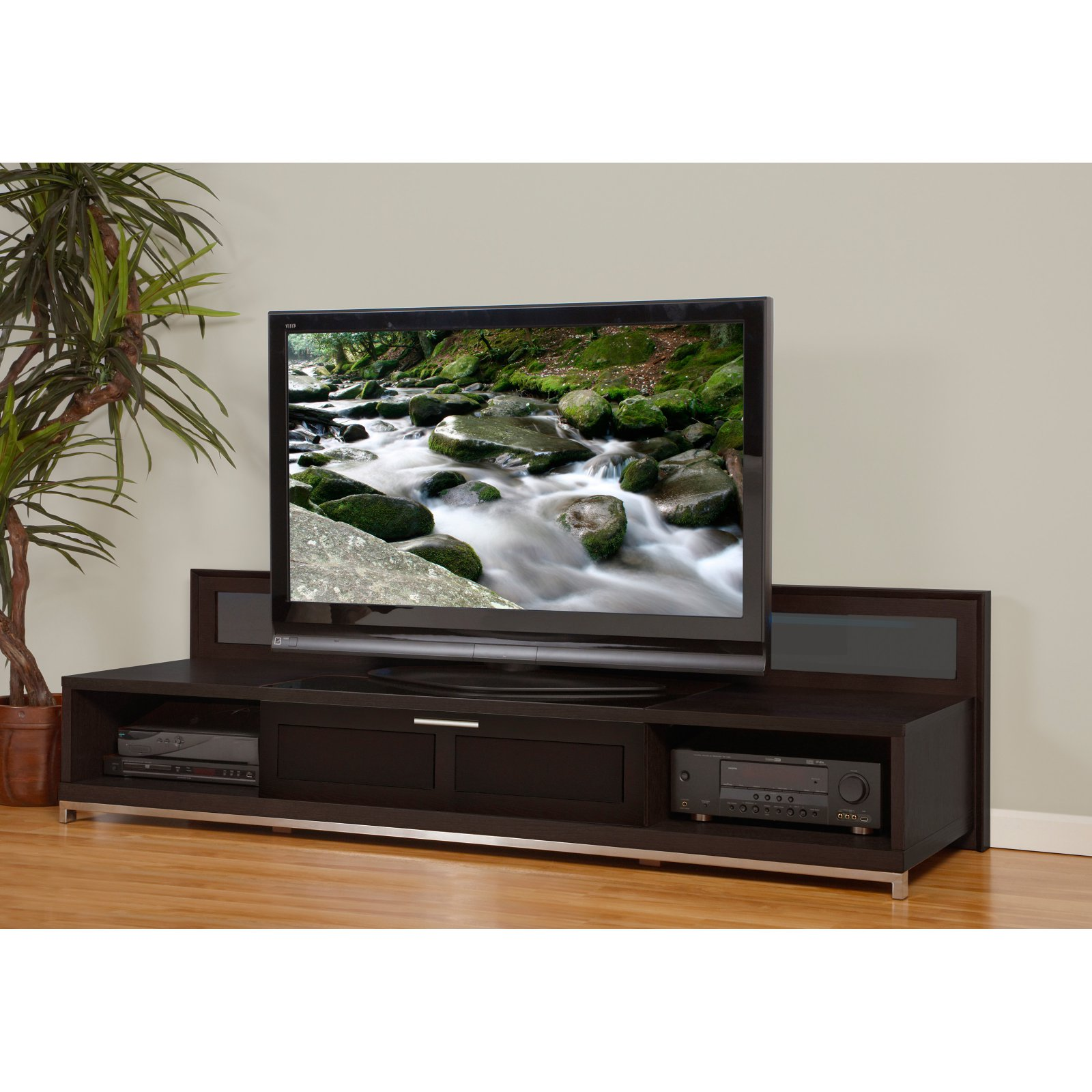 79 Inch Backlit Flat Screen TV Stand