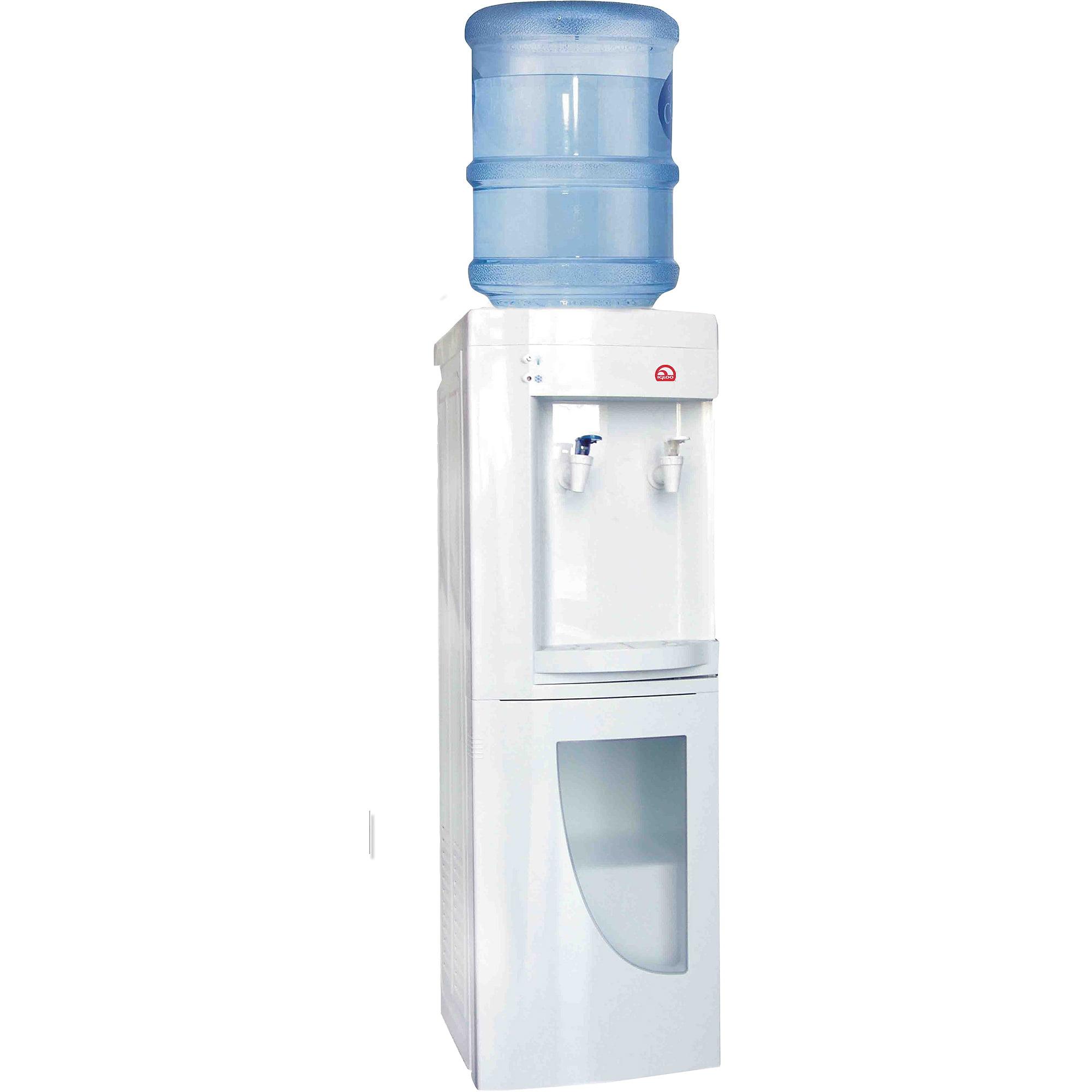 Hot And Cold Water Cooler Dispenser Igloo Water Cooler Dispenser White Walmartcom