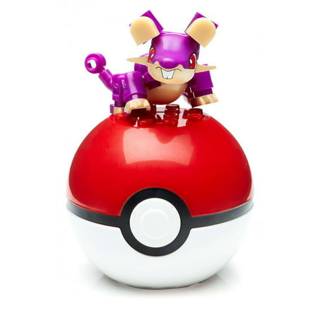 Mega Construx Pokemon Rattata Buildable Figure