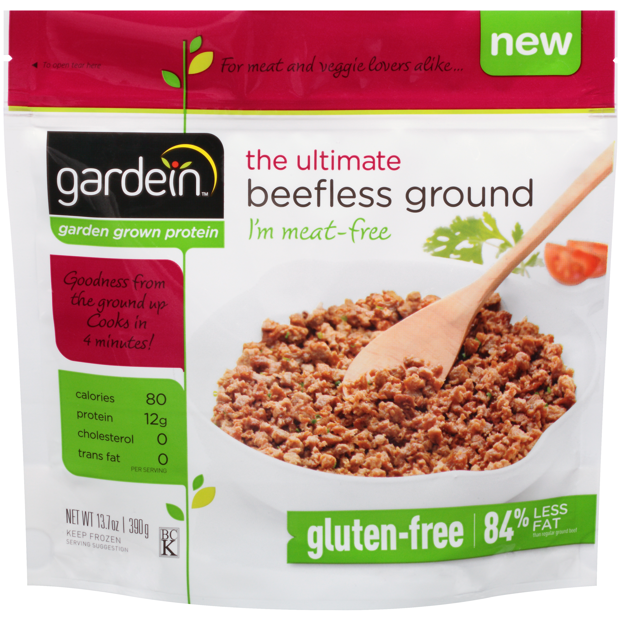 Gardein™ The Ultimate Beefless Ground 13.7 oz. Bag