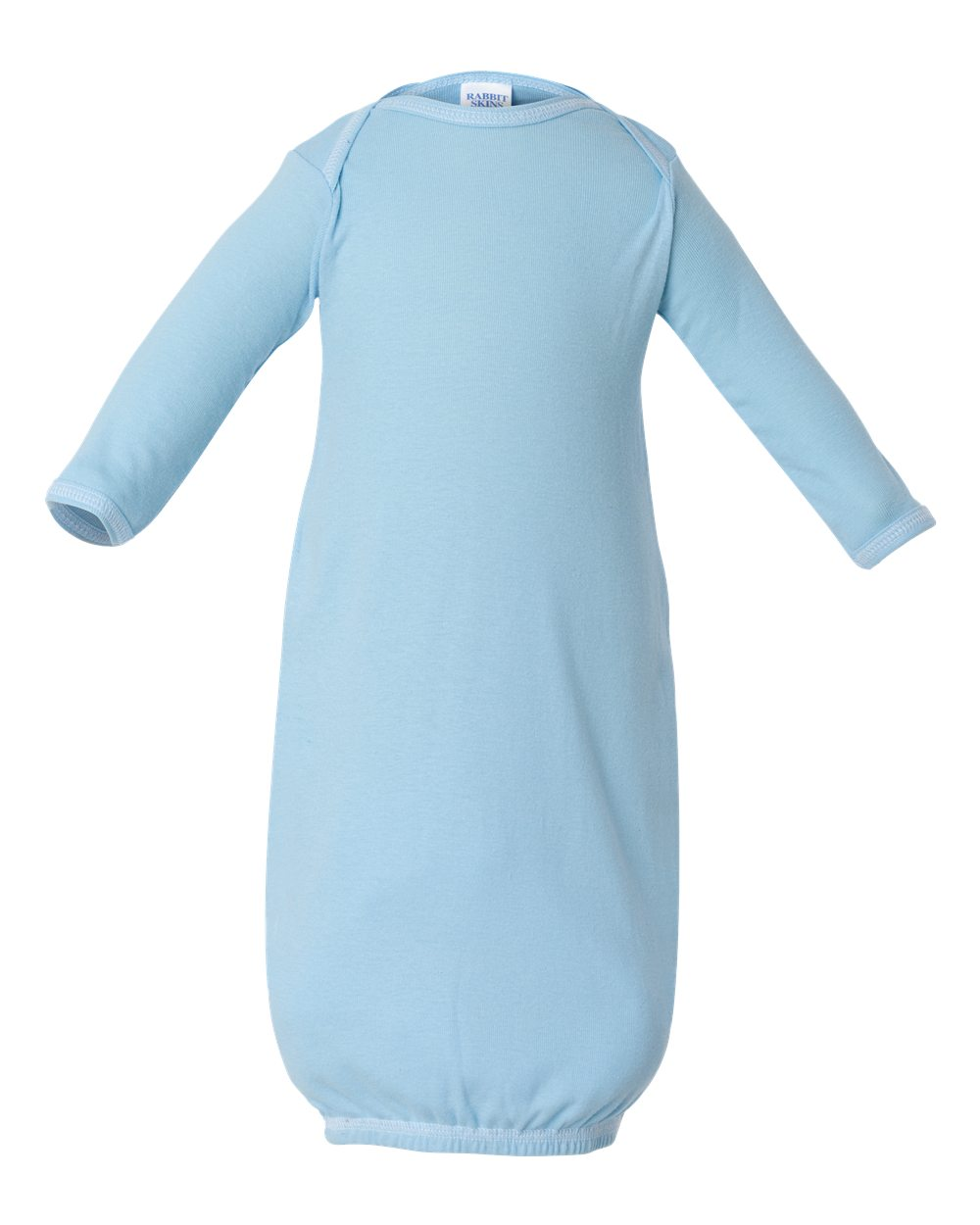 Rabbit Skins Baby Boy's Infant Baby Rib Layette Body Suit, Style 4406