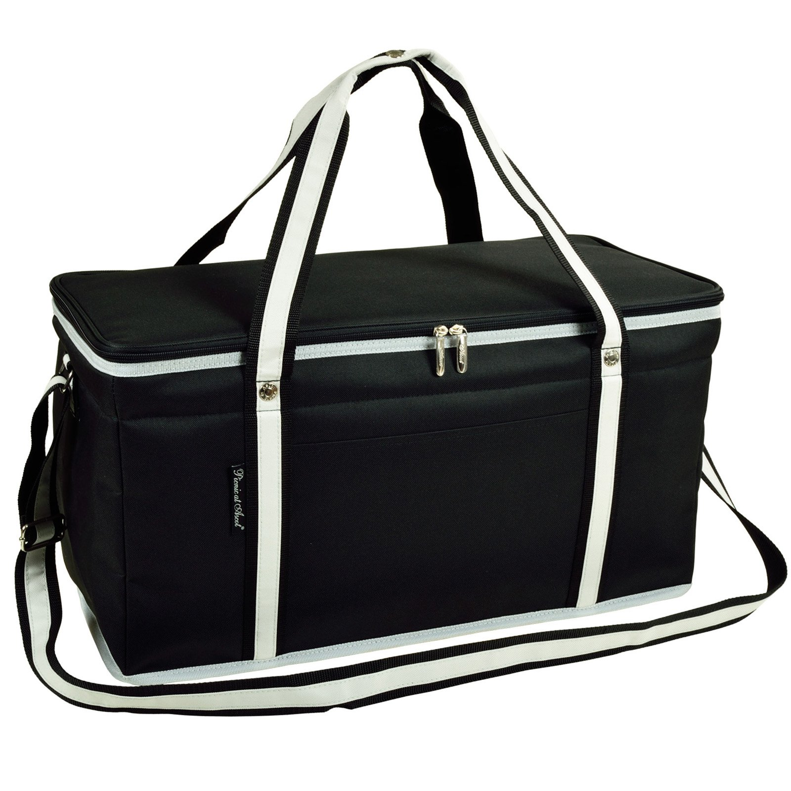 Picnic at Ascot 72 Can Folding Cooler - Black